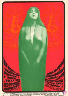 Classic Poster - Vanilla Fudge at Avalon Ballroom 9/29-10/1/67 by Alton Kelley
