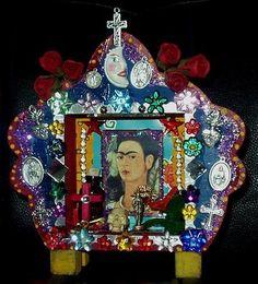 Crafty Chica Frida Shrine