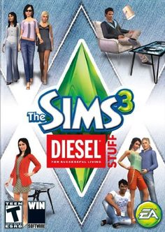 The Sims 3: Diesel Stuff - PC Download $19.99