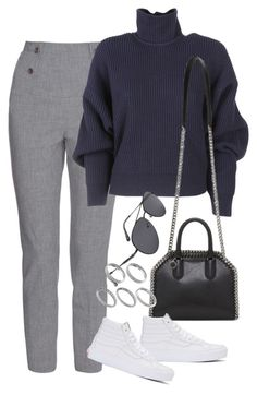 """""""Sem título #1510"""" by oh-its-anna ❤ liked on Polyvore featuring TIBI, Balenciaga, STELLA McCARTNEY, Vans and ASOS"""
