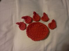 Ravelry: Bear Paw Applique pattern by Kelly Butler