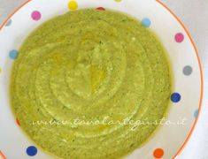 Cream of zucchini and peas - Recipe Pea Recipes, Guacamole, Hummus, Zucchini, Food And Drink, Cooking, Ethnic Recipes, Detox, Kids