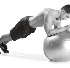 8 ασκήσεις κοιλιακών με μπάλα γυμναστικής