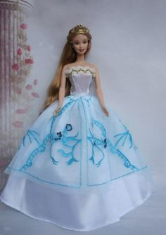 dolls in blue and yellow dress - Google Search
