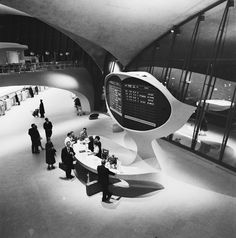 Le TWA Flight Center de l'aéroport John F. Kennedy à New York