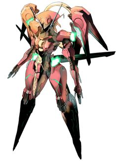 Nephtis from Zone of the Enders: The 2nd Runner