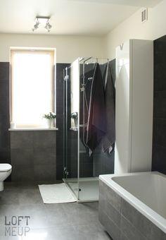 biało szara łazienka - Google Search