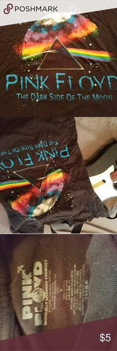 Worn twice. Mens size small. Bright colored No wear on color imprint on top. Worn twice. Mens size small. Pink Floyd. Shirts Tees - Short Sleeve