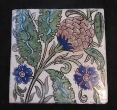 William De Morgan Manchester tile by WILLIAM DE MORGAN : The British Antique Dealers' Association