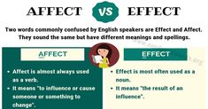 difference between affect and effect - 1200×628