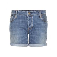 Burberry Brit - Denim shorts - No summer wardrobe is complete without a pair of casual denim shorts. This classic design from Burberry Brit is an essential that'll last for seasons to come. On hot sunny days, style with an embroidered top and leather sandals for downtime chic. seen @ www.mytheresa.com