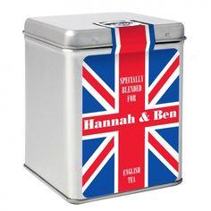 Union Jack Tea & Tin
