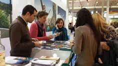 Compañeros de Turismo de Priego de Córdoba presentes en INTUR 2014 para dar a conocer su oferta turística!
