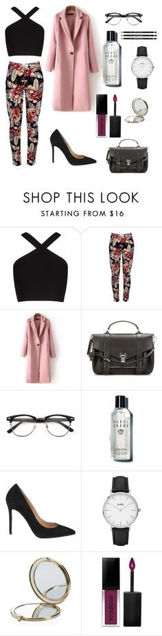 """""""my colors"""" by kips78 ❤ liked on Polyvore featuring BCBGMAXAZRIA, Proenza Schouler, Bobbi Brown Cosmetics, L'Autre Chose, CLUSE, Henri Bendel and Smashbox"""