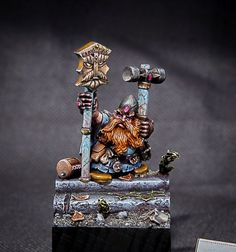 Dwarf Runesmith #dwarfs #dwarf #whfb #warhammer #runesmith #aos #ageofsigmar #gamesworkshop #propainted #propainting #miniatures #wellofeterntiy #hobby