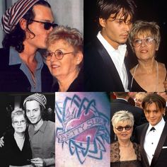 Johnny Depp's beloved mother Betty Sue Palmer died earlier on Friday, on May 20, 2016. R.I.P. Betty Sue :'(