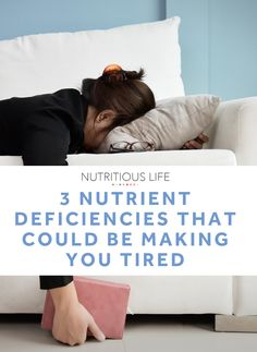 If you're still feeling unnaturally tired (despite getting plenty of sleep each night), keep these three energy-boosting nutrients in mind. You may need to up your intake of foods that contain them, or possibly even supplement, if that's just not doing the trick. You Fitness, Fitness Tips, Fitness Motivation, Good Habits, Healthy Habits, Habits Of Successful People, Bedtime Routine, Living A Healthy Life, Wellness Tips