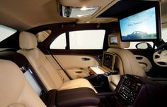 Bentley Mulsanne Interior Offers a Full Executive Office Suite