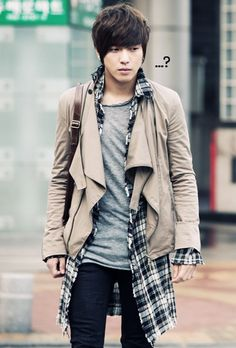 Jung Yong Hwa fashion.