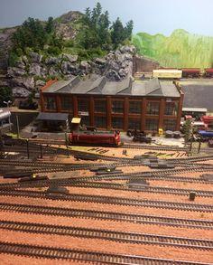 Рождественский музей с поездами в Норвегии 🚂🎄☃️☃️