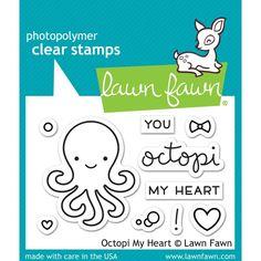 Lawn Fawn Octopi My Heart