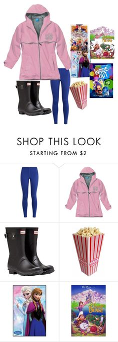 """""""rainy day? DISNEY MARATHON"""" by abby14310 ❤ liked on Polyvore featuring NIKE, Hunter and Disney"""