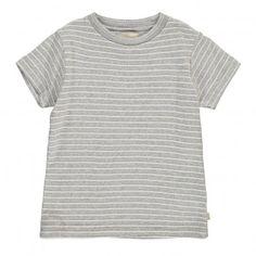 Gestreiftes T-Shirt Foul  Grau Meliert  Bellerose