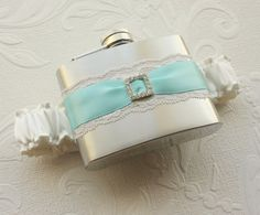 garter flask.... every girl needs this :)