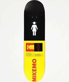 Girl x Kodak Mike Mo Skateboard Deck