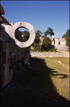 Ball Court, Uxmal, Yucatan, Mexico