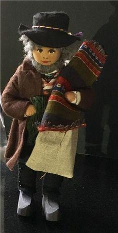 Charlotte Weibull docka jul gammal man på Tradera.com - Övriga dockor |