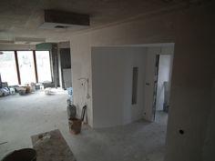 Tak wyglądają prace nad wykańczaniem wnętrza domu Benedykt 2  #mgprojekt #prace_budowlane #wnetrze