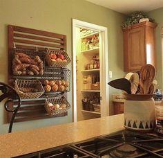 Image result for ikea wall bar vegetable basket