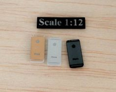Apple miniature Scale 1:12 Combo Set for by liluminiature on Etsy