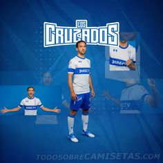 Camisetas Under Armour de Universidad Católica 2019 My Portfolio, Dragon Ball, Under Armour, Soccer, Ideas, Calamari, Armadillo, Sports Shirts, Crusaders
