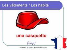 French Lesson 34 - Les vêtements CLOTHES CLOTHING Vocabulary - LES HABITS Ropa en francés - YouTube