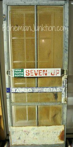 Restore a Vintage Screen Door
