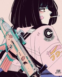 Cyberpunk Wonderland, a look at Vinne As a child, I grew up watching the anime series Dragon Ball Z. One summer, in particular, I would spend all day swimming then spend the night watching and playing Art Anime, Anime Art Girl, Manga Art, Anime Girls, Anime Girl Crying, Dark Anime Girl, Anime Child, Aesthetic Art, Aesthetic Anime