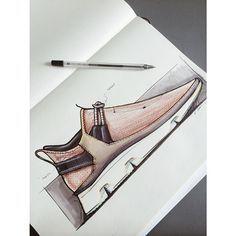 A little sunday sneaker sketch