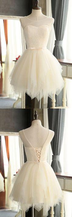 Mini Charming Tulle Short Prom Dresses Homecoming Dresses PG127,Homecoming Dresses,Party Dresses,Graduation Dresses
