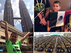 Niño genio mexicano arrasa en el Mundial de Matemáticas