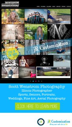 #SmugMug Site of the Week - Wenstrom Photography #Illinois #Portraits, #Seniors, #Sports Photography - click to read more