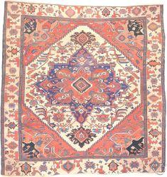 Heriz Iran-Persia ca.1870 345x385