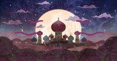 Resultado de imagem para 1001 nights illustrations