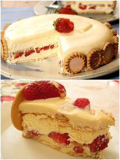 Torta Holandesa de Morando com Chocolate Branco – Caderno de Receitas