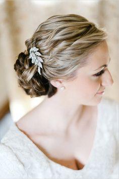 Wedding Updos - Wedding Hairstyles | Wedding Planning, Ideas & Etiquette | Bridal Guide Magazine