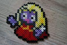 124 Lippoutou / Jynx - Perler Beads by Vicsene Perler Bead Disney, Pokemon Perler Beads, Pearler Beads, Fuse Beads, 151 Pokemon, Pokemon Sprites, Pixel Beads, Perler Patterns, Charizard