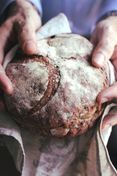 "Sourdough bread made with Beets and your flour of choice. Cavar bread ""London Fridge"""