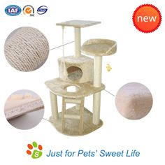 New Cat Tree Tower Condo, of high quality and eco-friendly.