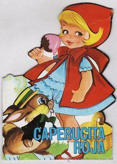 mini cuento clasico toray - caperucita roja - troquelado - dib. maria pascual - año 1989 - Foto 1